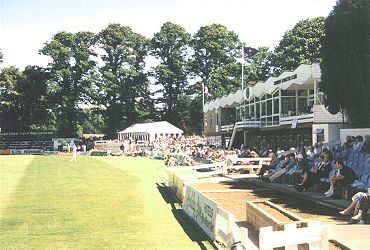 View of Sophia Gardens, Cardiff