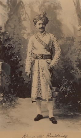 Ranji in Indian costume
