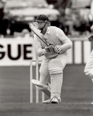 Alan Wells batting