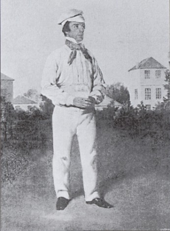 Portrait of John Wisden