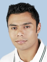 Danish Kaneria - Player Portrait