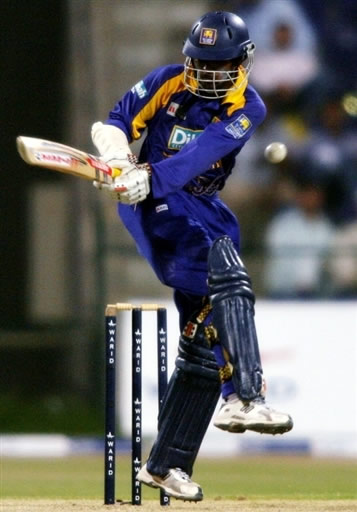 Upul Tharanga plays a shot