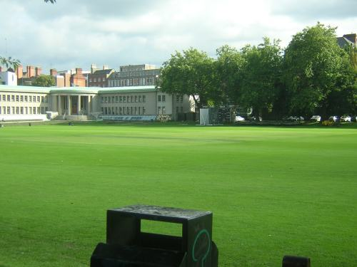 Trinity College, Dublin, view of the ground