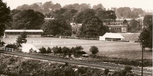 Leicestershire v Derbyshire in 1912