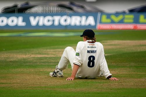 Oliver Newby against Surrey