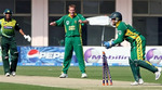 Mohammad Yousuf is run out by Boucher