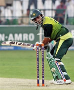 Abdur Rehman is bowled by Morkel
