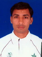 Mansoor Ahmed  - Player Portrait