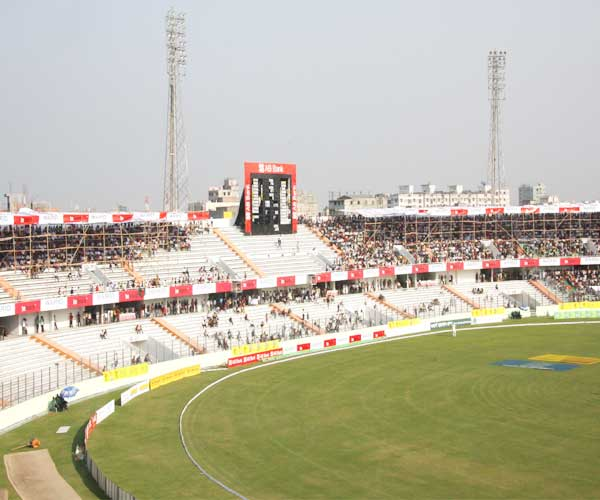 SBN Stadium on Day 2 during the match between South Africa v Bangladesh, 22 Feb 2008