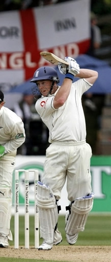 Tim Ambrose maiden ton takes England in command