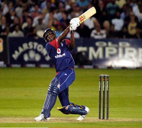 Dimitri Mascarenhas of England in action