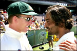 Brett Lee and Shoaib Akhtar face-to-face