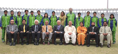 The Faisalabad Region Women's team