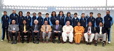 The Karachi Region Women's team