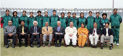 The Lahore Region Women's team