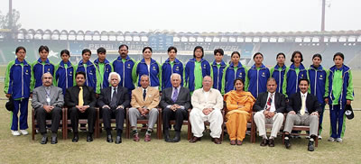 The Multan Region Women's team