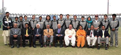 The Peshawar Region Women's team