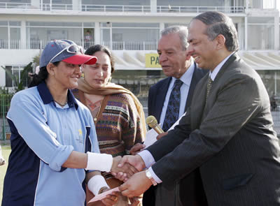 Humera Masroor, Woman of the Match