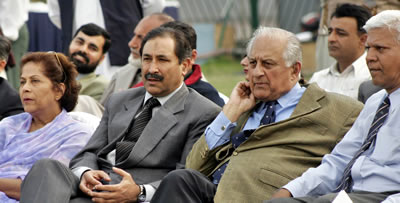 Chairman PCB, Chairperson Women's wing and chief guest