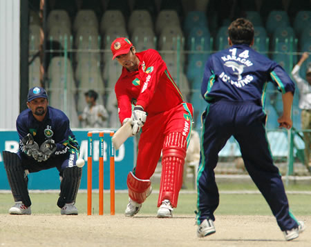 Waqas Ahmed batting
