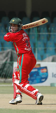 Taufeeq Umar batting
