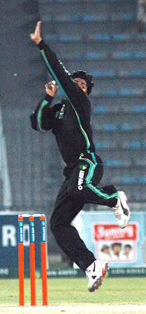 Shahid Nazir took 4 wickets