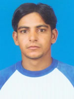 Zahid Hussain - Player Portrait