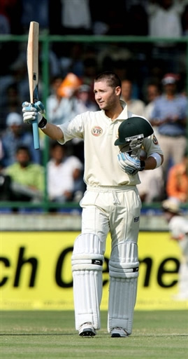 Michael Clarke ton takes Australia to safety