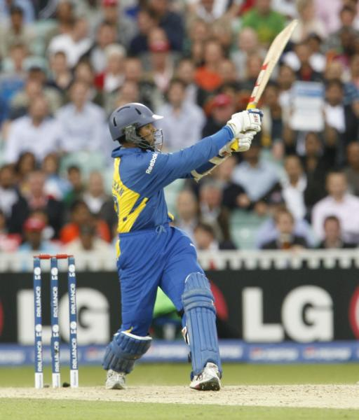 Dilshan on fire