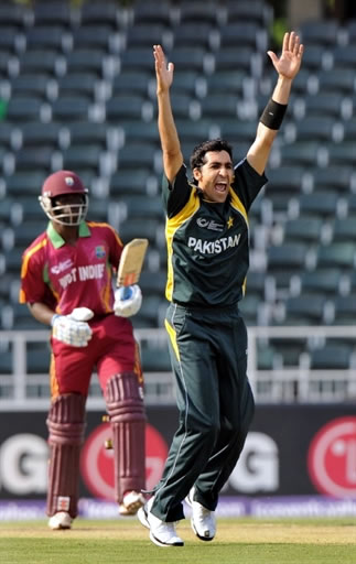 Umar Gul 3 for 28 helps Pakistan victory over West Indies