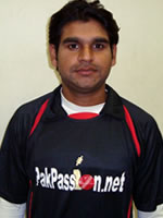 Adnan Raza - Player Portrait