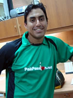 Nasir Jamshed - Player Portrait