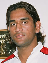 MS Dhoni - Player Portrait