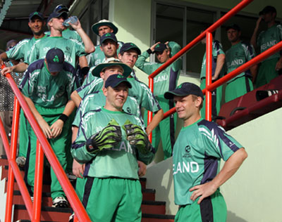 Ireland prepare to take the field