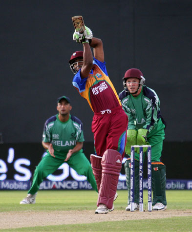 Six hit from Dwayne Bravo