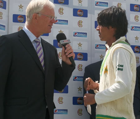 Mohammad Aamer declared Pakistan's Man of the Match