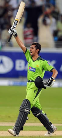 Zulqarnain Haider after helping Pakistan win 4th ODI against South Africa