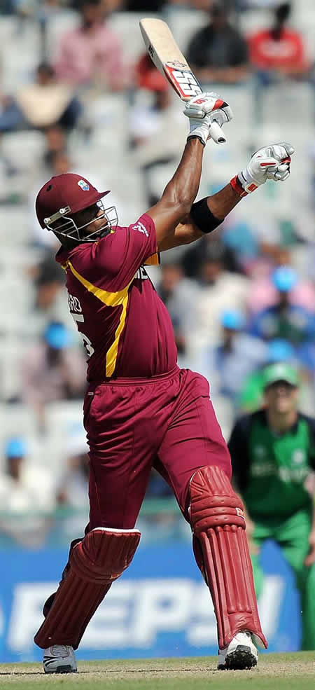 Kieron Pollard blazing 94 off 55 helps West Indies win