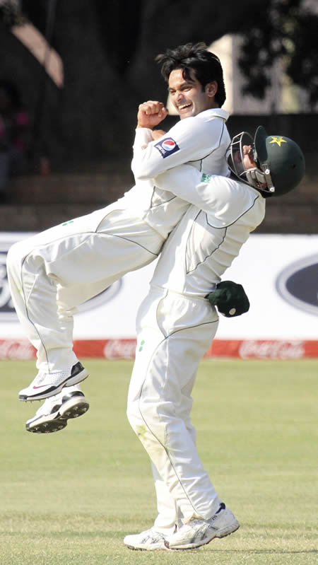 Brilliant Mohammad Hafeez carved up Zimbabwe