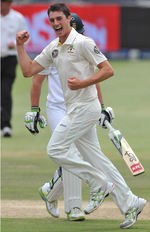 Pat Cummins to 6 for 79 on debut, South Africa v Australia
