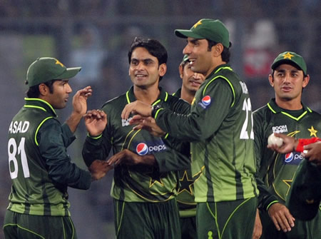Pakistan's bowlers successfully defended 135