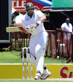 Jacques Kallis waits for the ball
