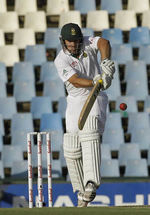 Mark Boucher extended South Africa's lead