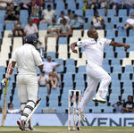 Vernon Philander had Tillakaratne Dilshan caught behind