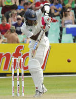 Dinesh Chandimal tucks one away