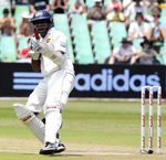 Thilan Samaraweera celebrates getting to a century