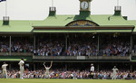 The SCG crowd gives Michael Clarke a standing ovation for scoring a ton
