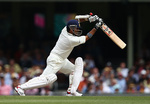 Sachin Tendulkar bats in India's second innings at the SCG