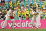 VVS Laxman made a fighting half-century