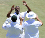 Vernon Philander ended Sri Lanka's pre-lunch defiance with two quick strikes